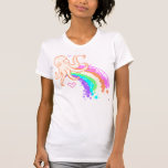 rainbows and an octapus t shirt