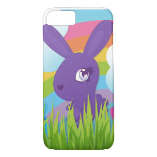 Rainbows and Bunnies iPhone 8/7 Case