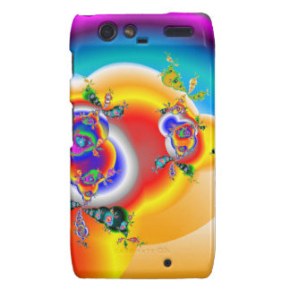 Rainbows and Roses Droid RAZR Cover