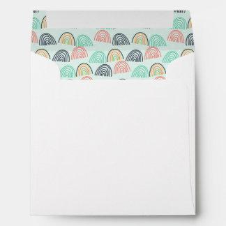 Rainbows and Unicorns Envelope