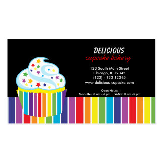 Rainbows Bakery Double-Sided Standard Business Cards (Pack Of 100)