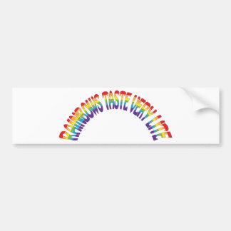 Rainbows Bumper Sticker