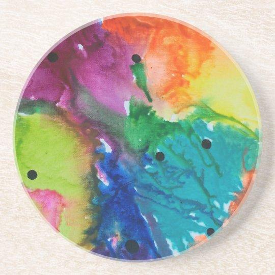 Rainbows Drink Coaster