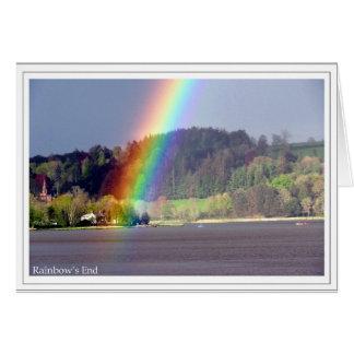 Rainbow's End Card