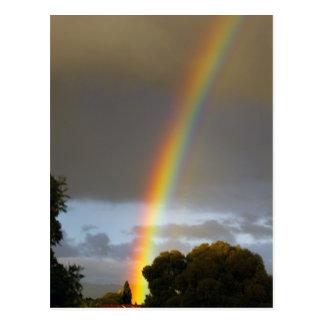 Rainbow's end postcard