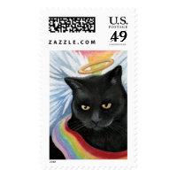 Rainbow's End v.2 - Angel Cat Postage