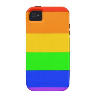 Rainbows Everywhere! Vibe iPhone 4 Cover