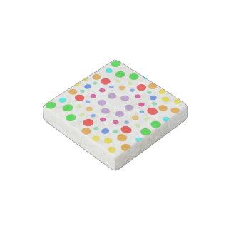 Rainbows Stone Magnet
