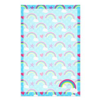 Rainbows, Hearts & Stars Stationery
