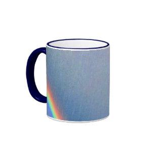 Rainbows in the Rain mug