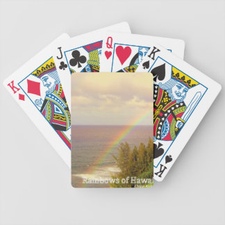 Rainbows of Hawaii Bicycle Playing Cards