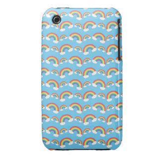 Rainbows on blue iPhone 3 Case-Mate case