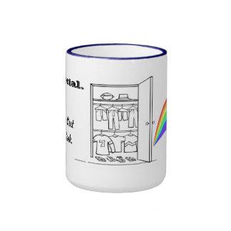Rainbows Ringer Mug