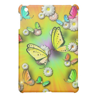Rainbows Swallowtails and Daisies Speck Case iPad Mini Case
