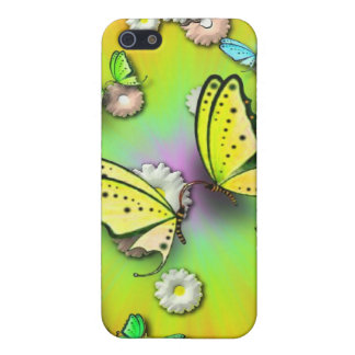 Rainbows Swallowtails and Daisies Speck Case iPhone 5 Case