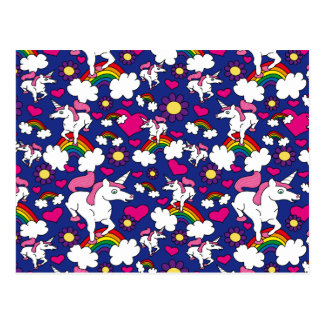 Rainbows & Unicorns Postcard