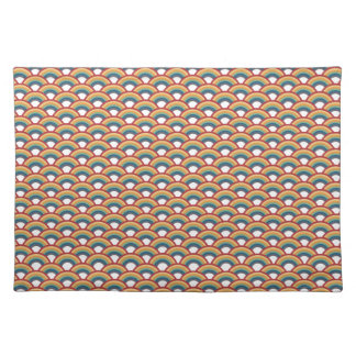"RainbowScales Placemats (20"" x14"") Mantel Individual"