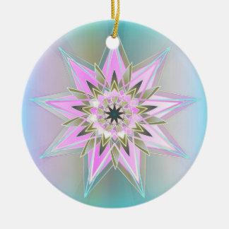 RainbowStar Ceramic Ornament