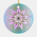 RainbowStar Double-Sided Ceramic Round Christmas Ornament