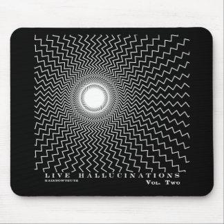 Rainbowtruth Live Hallucinations Optical Illusion Mouse Pad