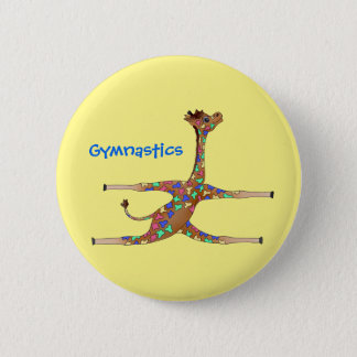 Rainbwo Gymnastics by The Happy Juul Company Button