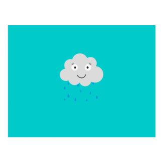 Raincloud Postcard