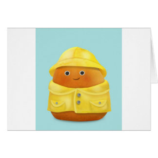 Raincoat Ruby Card