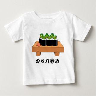 < Raincoat winding > KAPPA-MAKI Baby T-Shirt