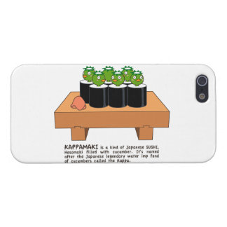 < Raincoat winding > KAPPA-MAKI Case For iPhone SE/5/5s