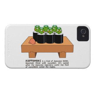 < Raincoat winding > KAPPA-MAKI iPhone 4 Cover