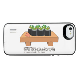 < Raincoat winding > KAPPA-MAKI iPhone SE/5/5s Battery Case