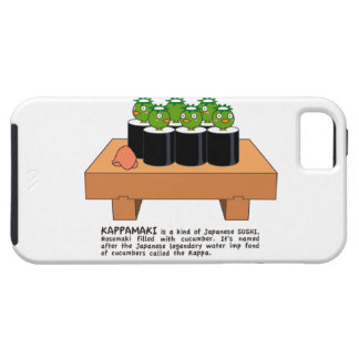 < Raincoat winding > KAPPA-MAKI iPhone SE/5/5s Case