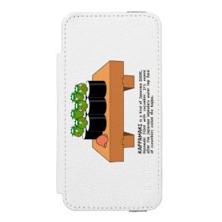< Raincoat winding > KAPPA-MAKI iPhone SE/5/5s Wallet Case