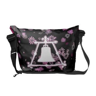 Raincross Fleur Flower Design Messenger Bag