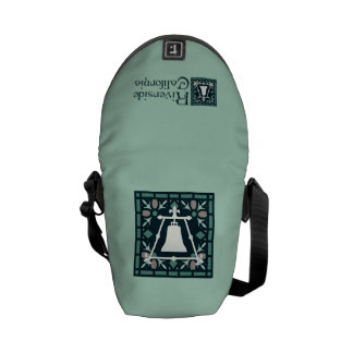 Raincross Tracery Design Courier Bag