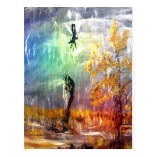 """Raindancer"" Vertical Postcard"