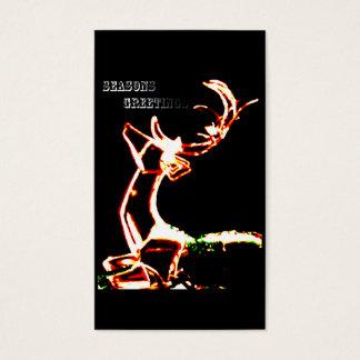 raindeer glow business card