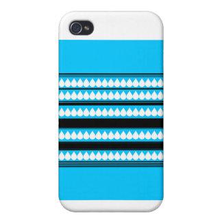 Raindrop Pattern iPhone 4 Case
