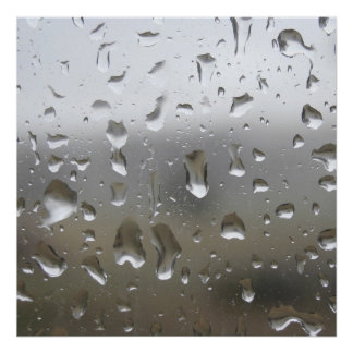 Raindrop Print