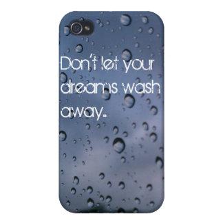 Raindrop Quote IPhone Case Cases For iPhone 4