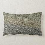 Raindrop Ripples Abstract Nature Water Photography Lumbar Pillow