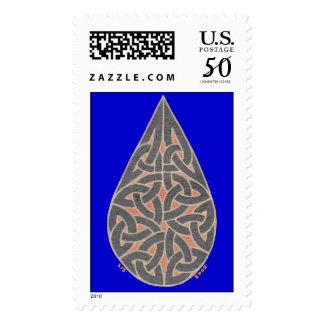 Raindrop stamp 3