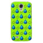 Raindrop Style Pattern Design Samsung Galaxy S4 Case