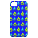 Raindrop Style Pattern Design iPhone 5 Covers