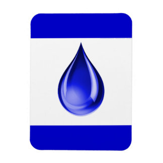 RAINDROP TEARS GRAPHICS LOGO ICON WATER DROPLET MAGNET