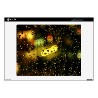 """Raindrops 14"""" decal for laptop"""
