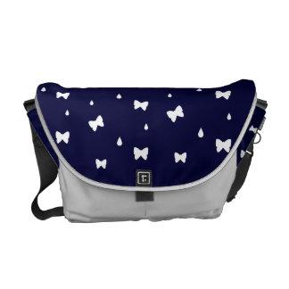 Raindrops and Butterflies Messenger Bag