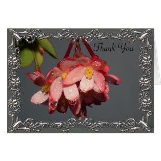 Raindrops and Petals Card