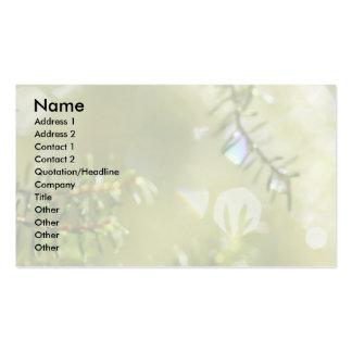 Raindrops Business Card