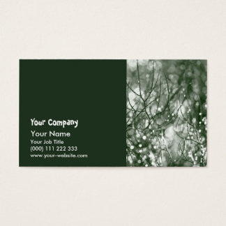 Raindrops Business Card